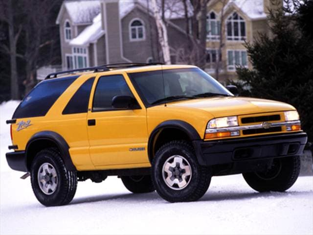 Most Popular SUVs of 2004 - 2004 Chevrolet Blazer
