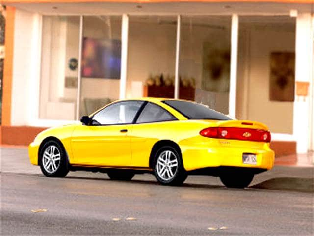 Most Fuel Efficient Coupes of 2004 - 2004 Chevrolet Cavalier
