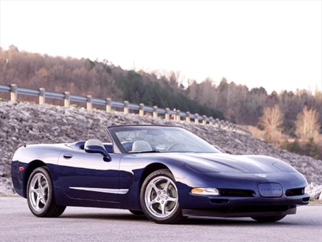 Top Consumer Rated Convertibles of 2004 - 2004 Chevrolet Corvette