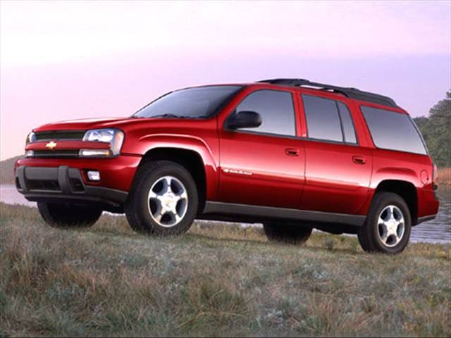 Most Popular SUVs of 2004 - 2004 Chevrolet TrailBlazer