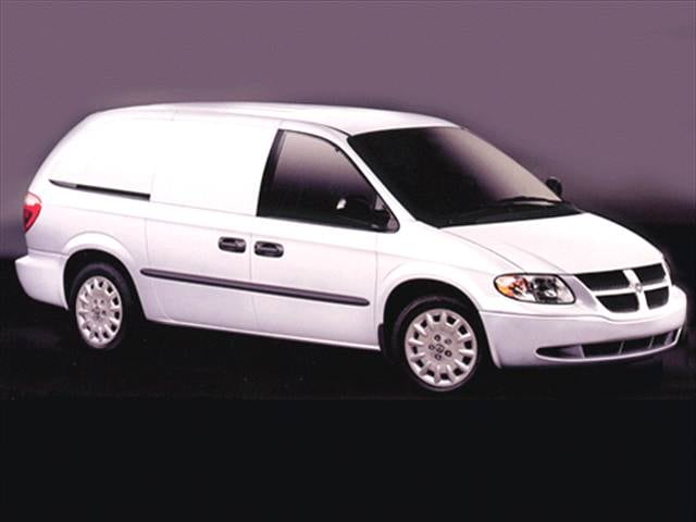 Most Fuel Efficient Vans/Minivans of 2004 - 2004 Dodge Caravan Cargo