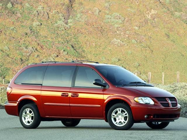 Most Fuel Efficient Vans/Minivans of 2004 - 2004 Dodge Grand Caravan Passenger