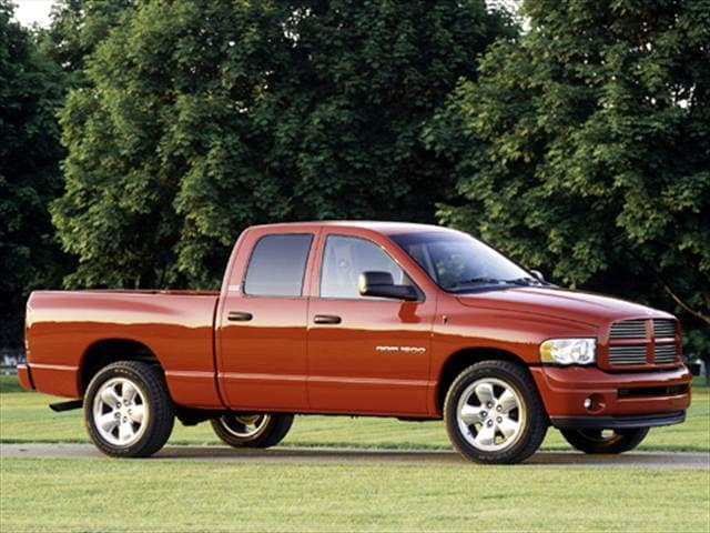Most Popular Trucks of 2004 - 2004 Dodge Ram 1500 Quad Cab
