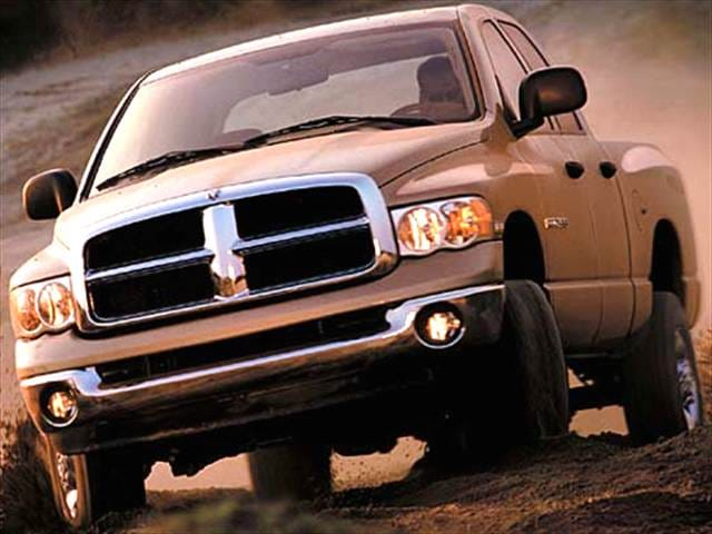 Most Popular Trucks of 2004 - 2004 Dodge Ram 2500 Quad Cab