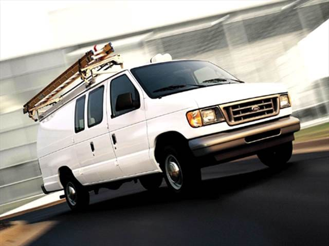Top Consumer Rated Vans/Minivans of 2004 - 2004 Ford E150 Super Duty Cargo