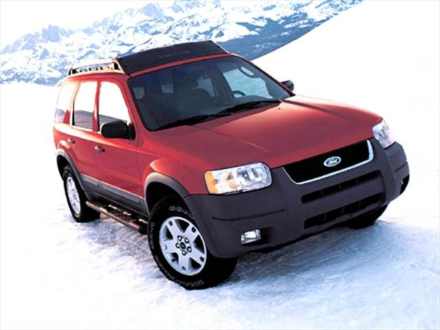 Most Popular Wagons of 2004 - 2004 Ford Escape
