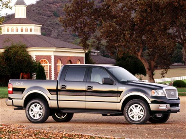 2004 Ford F150 Lariat >> Used 2004 Ford F150 Supercrew Cab Lariat Pickup 4d 5 1 2 Ft