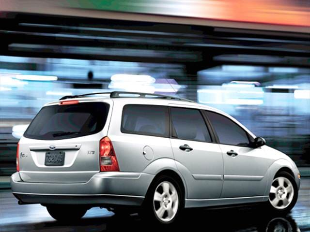 Most Fuel Efficient Wagons of 2004 - 2004 Ford Focus