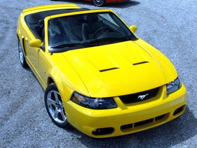 Highest Horsepower Convertibles of 2004 - 2004 Ford Mustang