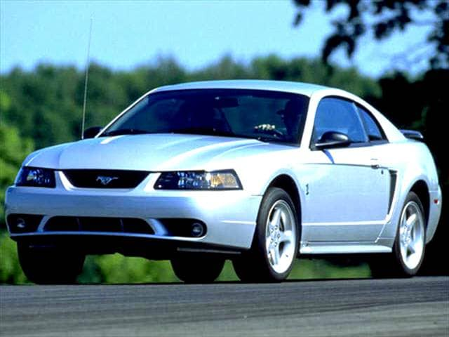 Most Popular Coupes of 2004 - 2004 Ford Mustang