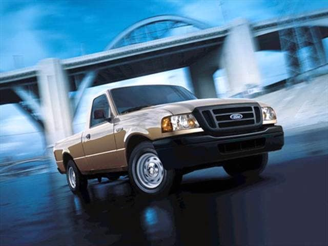 Most Fuel Efficient Trucks of 2004 - 2004 Ford Ranger Regular Cab