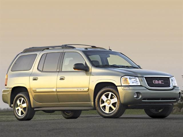 Most Popular SUVs of 2004 - 2004 GMC Envoy XL