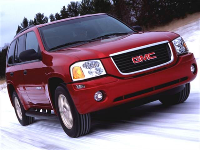 Most Popular SUVs of 2004 - 2004 GMC Envoy