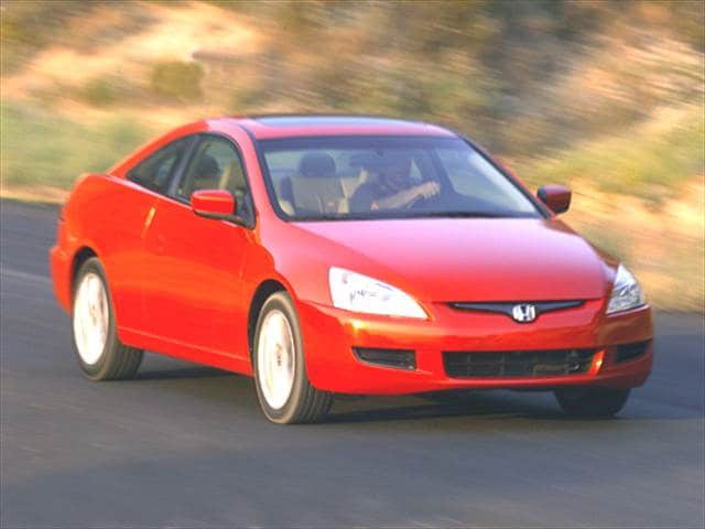 Most Fuel Efficient Coupes of 2004 - 2004 Honda Accord