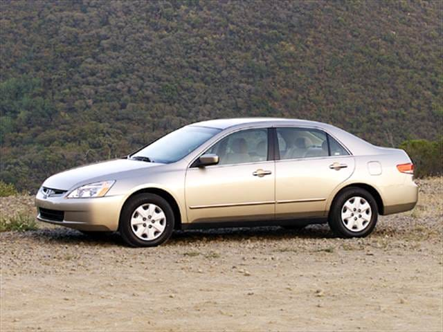 Most Popular Sedans of 2004 - 2004 Honda Accord