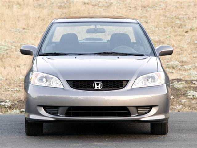 Most Fuel Efficient Coupes of 2004 - 2004 Honda Civic