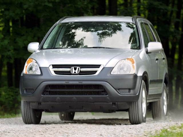 Most Fuel Efficient Crossovers of 2004 - 2004 Honda CR-V