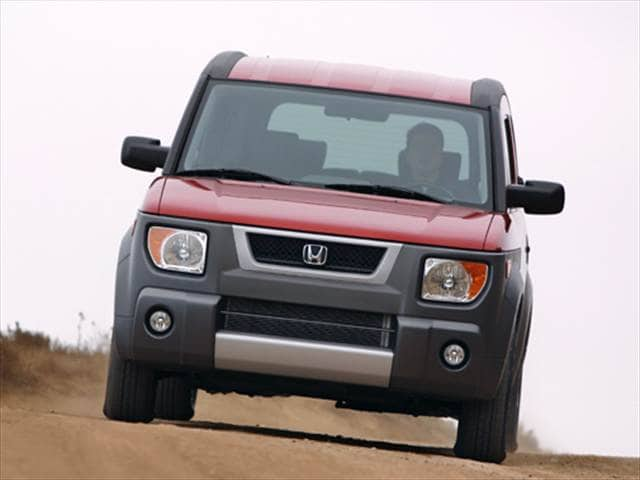 Top Consumer Rated Crossovers of 2004 - 2004 Honda Element