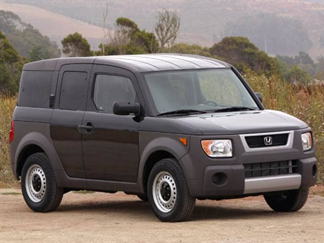 Most Fuel Efficient SUVs of 2004 - 2004 Honda Element
