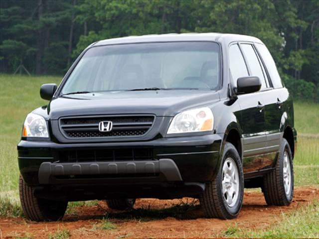 Top Consumer Rated Crossovers of 2004 - 2004 Honda Pilot
