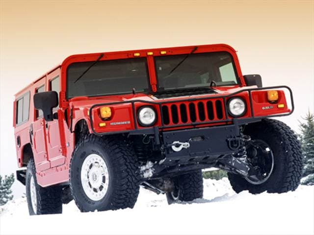 Top Consumer Rated Wagons of 2004 - 2004 HUMMER H1