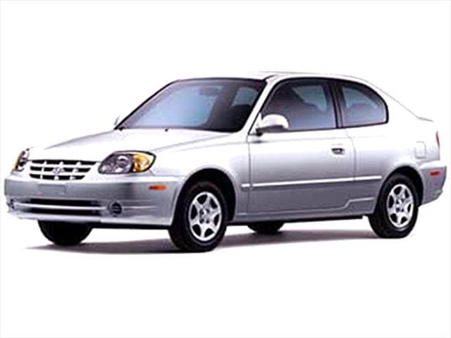 Most Fuel Efficient Coupes of 2004 - 2004 Hyundai Accent