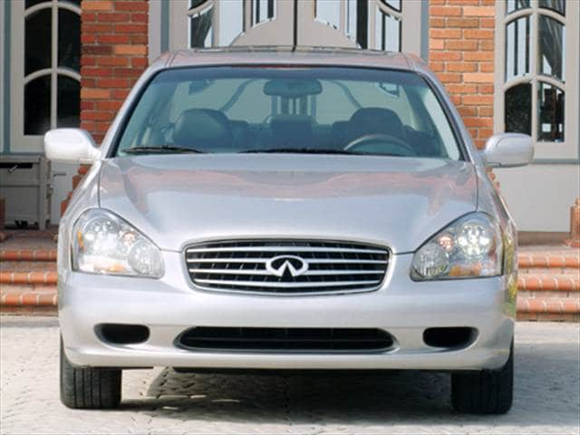 Highest Horsepower Sedans of 2004 - 2004 INFINITI Q