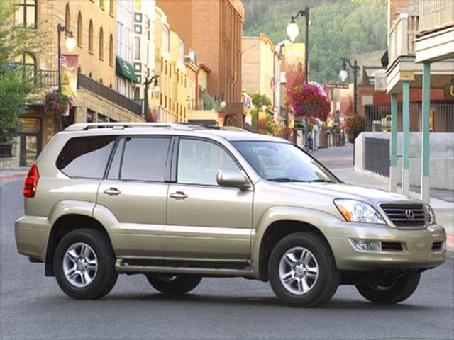Top Consumer Rated SUVs of 2004 - 2004 Lexus GX