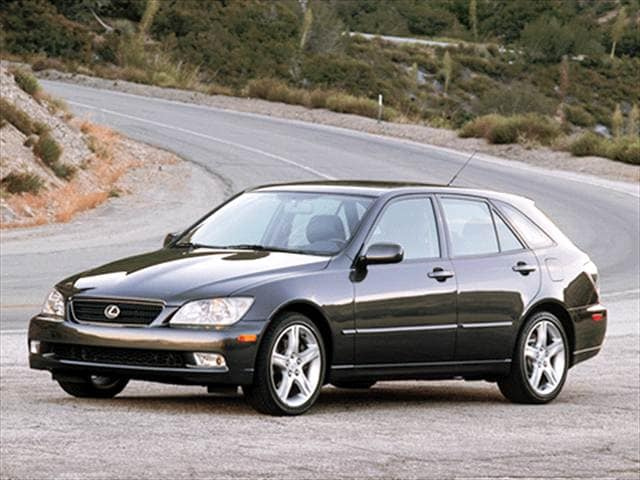 Highest Horsepower Hatchbacks of 2004 - 2004 Lexus IS