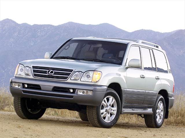 Top Consumer Rated Luxury Vehicles of 2004 - 2004 Lexus LX