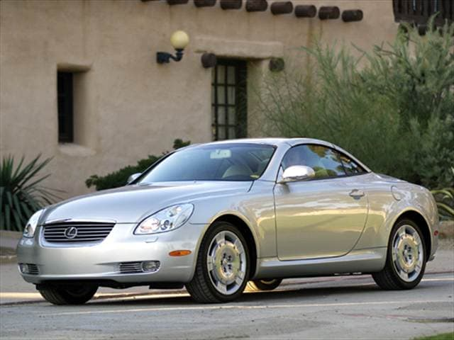 Top Consumer Rated Convertibles of 2004 - 2004 Lexus SC