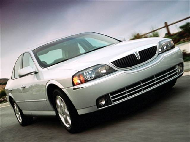 Most Popular Luxury Vehicles of 2004 - 2004 Lincoln LS