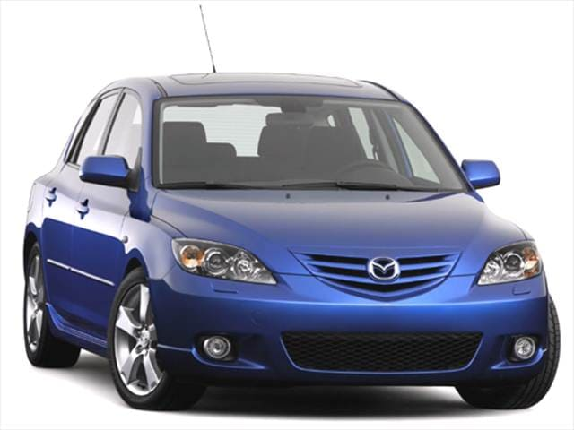 Most Popular Hatchbacks of 2004 - 2004 Mazda MAZDA3