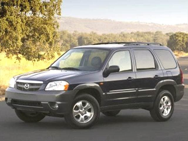 Most Fuel Efficient Crossovers of 2004 - 2004 Mazda Tribute