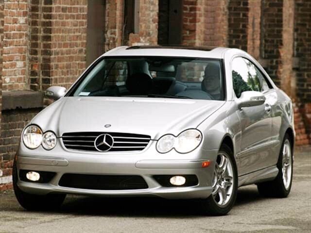 Highest Horsepower Coupes of 2004 - 2004 Mercedes-Benz CLK-Class