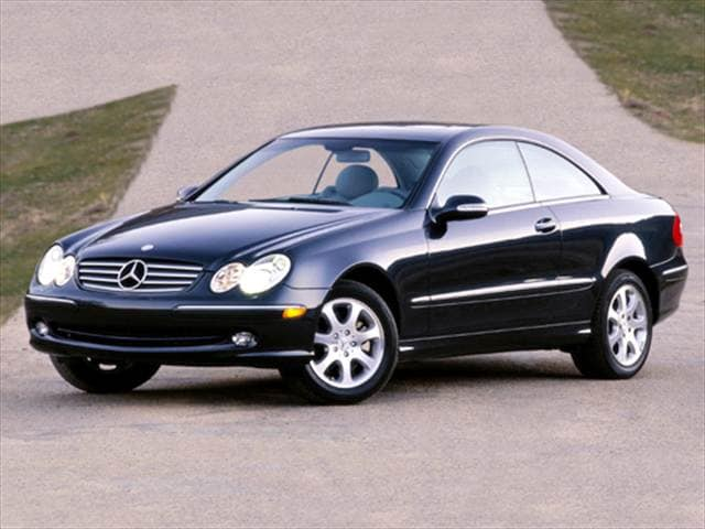 Most Fuel Efficient Luxury Vehicles of 2004 - 2004 Mercedes-Benz CLK-Class