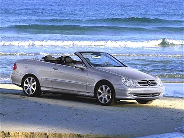 Highest Horsepower Convertibles of 2004 - 2004 Mercedes-Benz CLK-Class