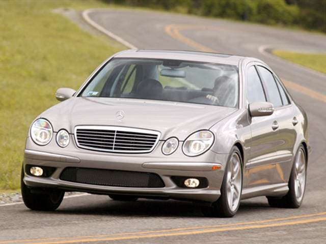Highest Horsepower Luxury Vehicles of 2004 - 2004 Mercedes-Benz E-Class
