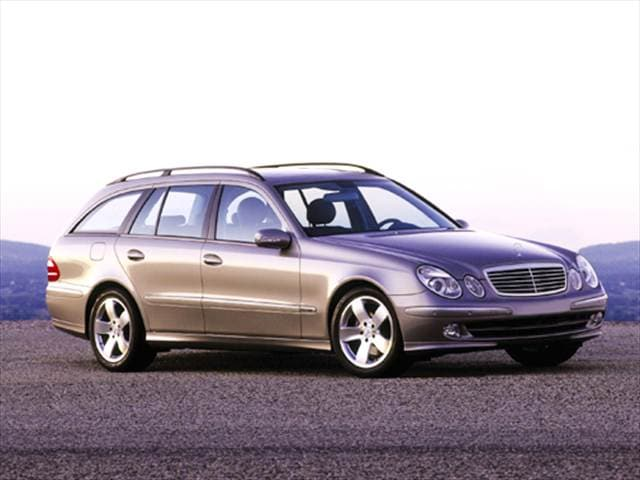 Most Popular Luxury Vehicles of 2004 - 2004 Mercedes-Benz E-Class