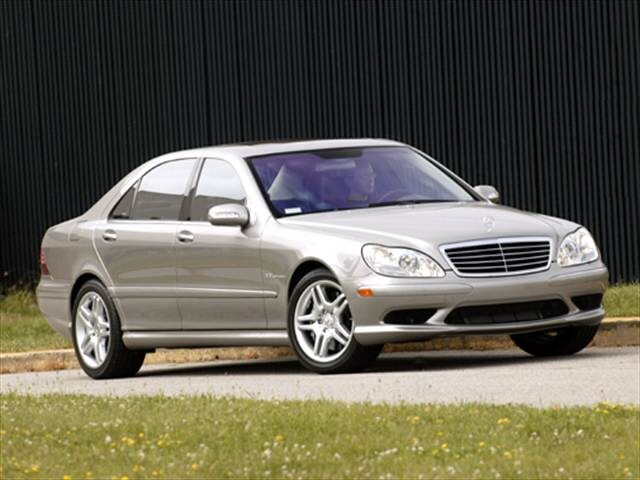 Highest Horsepower Sedans of 2004 - 2004 Mercedes-Benz S-Class