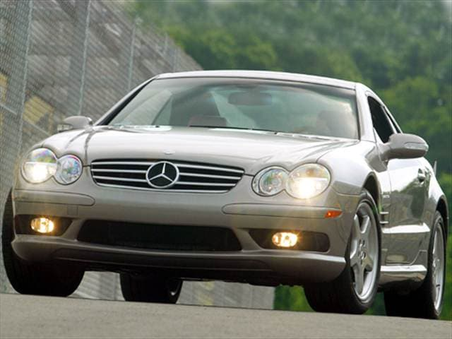 Highest Horsepower Convertibles of 2004 - 2004 Mercedes-Benz SL-Class