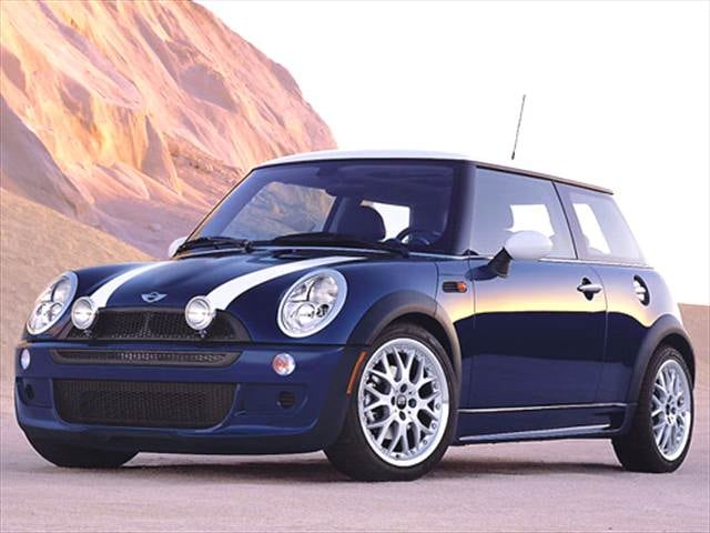 Most Fuel Efficient Hatchbacks of 2004 - 2004 MINI Cooper