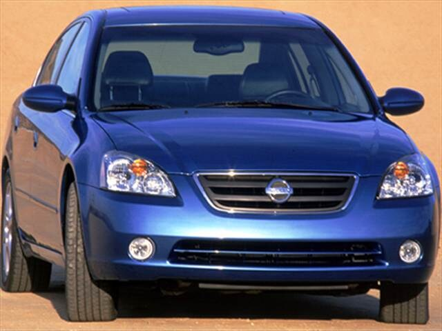 Most Popular Sedans of 2004 - 2004 Nissan Altima