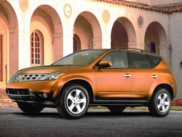 Most Fuel Efficient Crossovers of 2004 - 2004 Nissan Murano