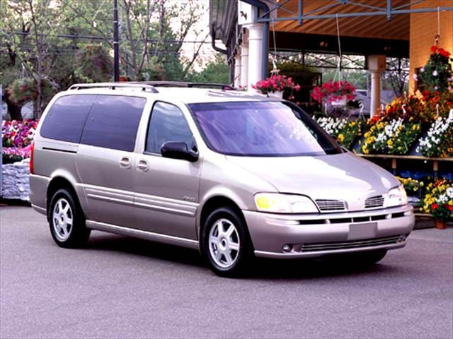 Most Fuel Efficient Vans/Minivans of 2004 - 2004 Oldsmobile Silhouette