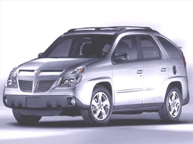 Most Fuel Efficient SUVs of 2004 - 2004 Pontiac Aztek