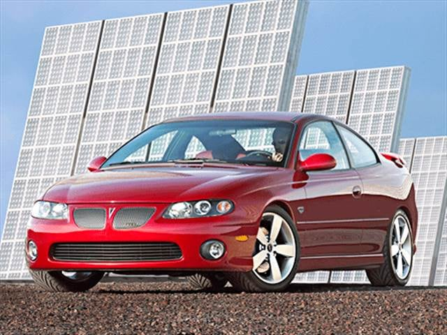 Top Consumer Rated Coupes of 2004 - 2004 Pontiac GTO