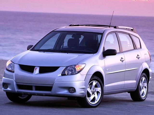Most Fuel Efficient Hatchbacks of 2004 - 2004 Pontiac Vibe