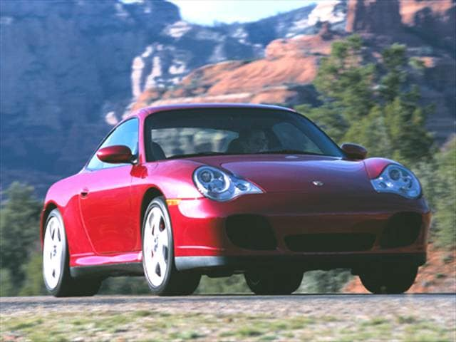 Top Consumer Rated Coupes of 2004 - 2004 Porsche 911