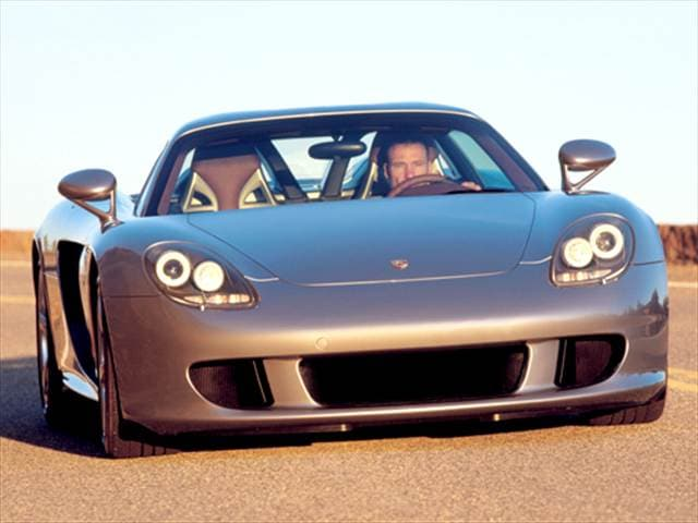 Highest Horsepower Convertibles of 2004 - 2004 Porsche Carrera GT